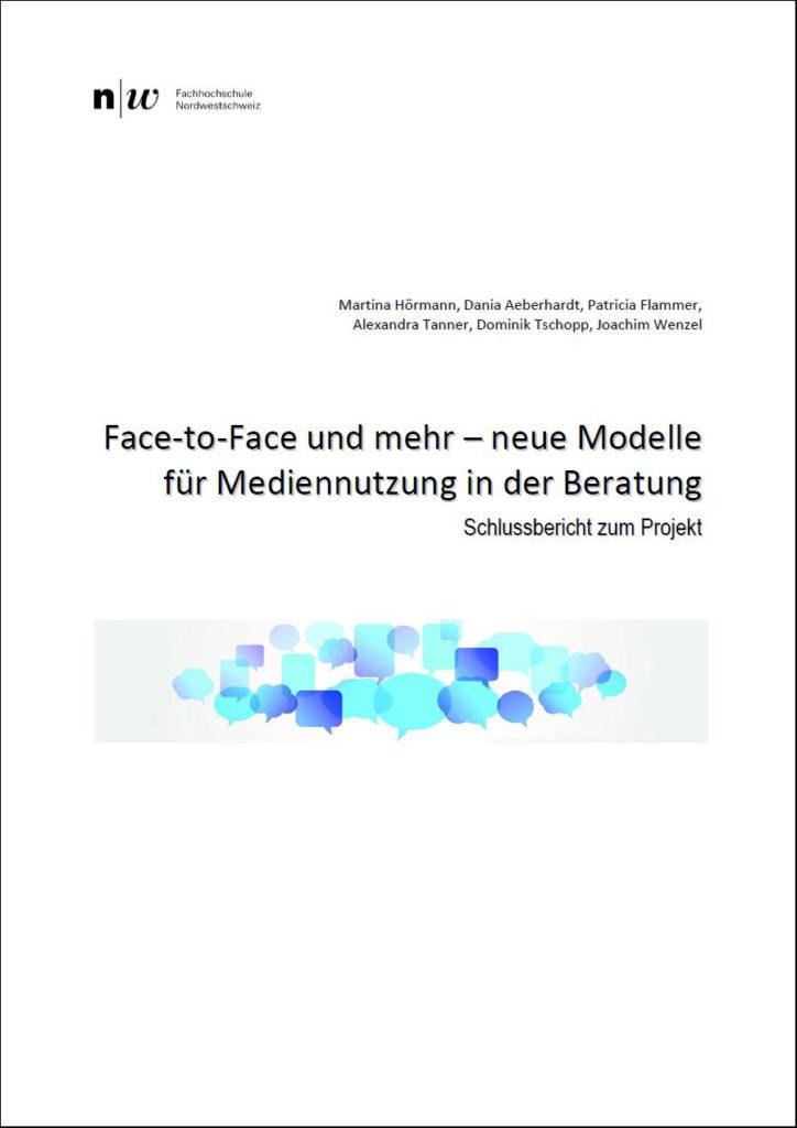 Publikation Face-to-Face und mehr - neue Modelle für Mediennutzung in der Beratung